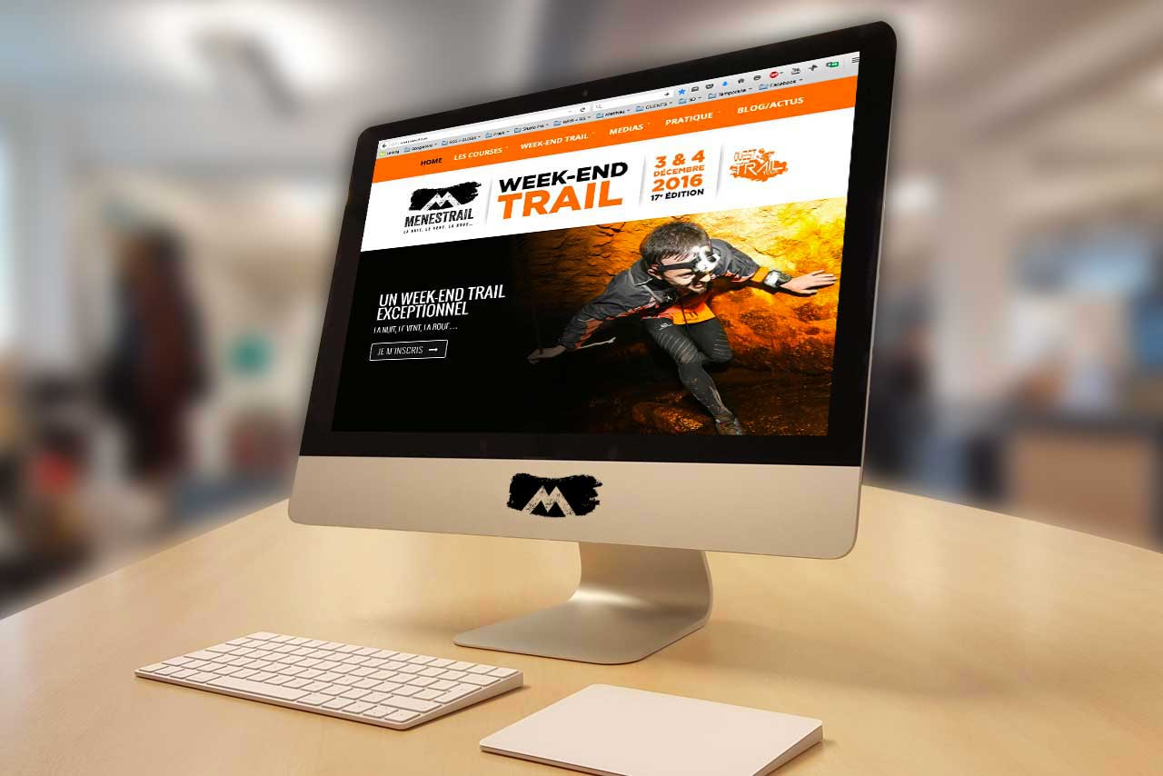Site internet Menestrail
